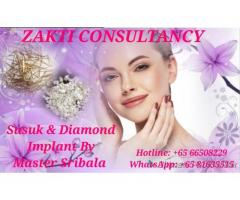 Brilliant Susuk and Diamond Implant for Singles