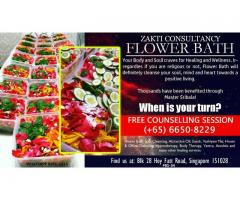 Brilliant Healing and Wellness Flower Bath