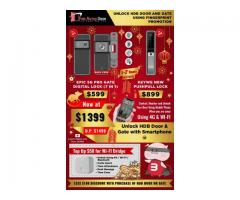 HDB GATE OFFERS FROM LEADING DIGITAL LOCK SELLER, EPIC GATE DIGITAL LOCK + KEYWE PUSHPULL
