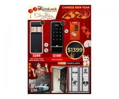 CHINESE NEW YEAR PROMOTIONS IN EPIC DIGITAL LOCK, GATE AND DOOR.