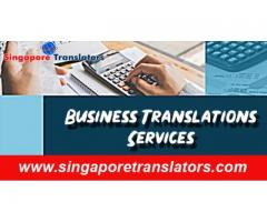 Reliable Business Translation Service in Singapore