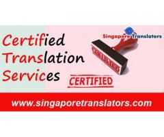 Certified Translation Services In Singapore:For Corporation.Professional