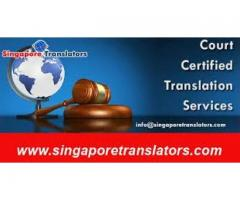 Court Certified Translation Services In Singapore