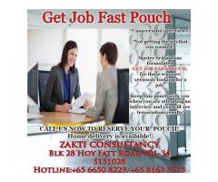 Convincing Get Job Fast Pouch