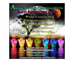 Convincing and Awaken Your Chakras with Zakti Full Moon Bath