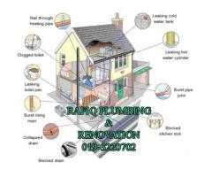 TUKANG PAIP PLUMBING BAIKI ATAP BOCOR RENOVATION
