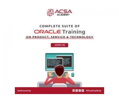 Best Oracle Institute Malaysia | Job Oriented Training Institute | ACSA Academy