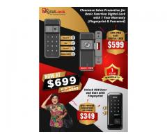 Promotion for Basic Function Digital Lock for HDB Gate and Door at $699 ONLY