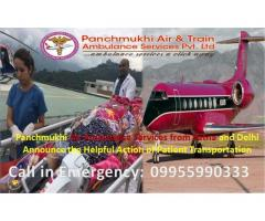 Panchmukhi Air Ambulance in Patna – The Best Relocation Method for Patient