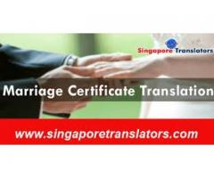 Certified Marriage Certificate Translation Services in Singapore