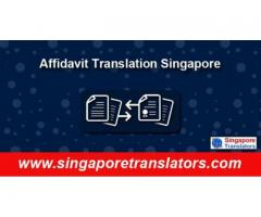 Affidavit Translation Services In Singapore: 100% Accuracy
