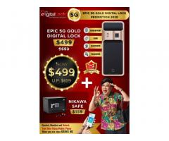 EPIC 5G Gold digital lock Promotion at $499 Only