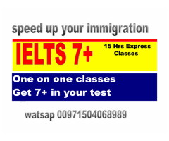IELTS with native speaker