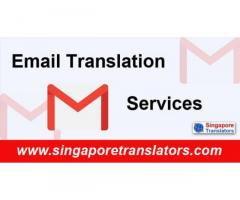 Email translation services in Sinngapore