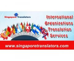 International organisation translation services in Singapore