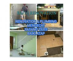 plumber plumbing baiki atap bocor renovation