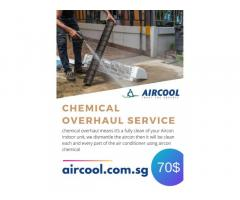 aircon chemical overhaul