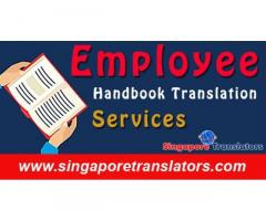 Employee handbook translation in Singapore:Certified
