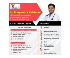 Book an appointment with rheumatologist in Jaipur for arthritis in Jaipur