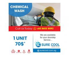 aircon chemical wash singapore