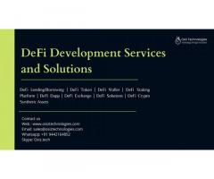 DeFi Development Services and Solutions