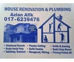 Plumbing dan renovation 0176239476 taman permata