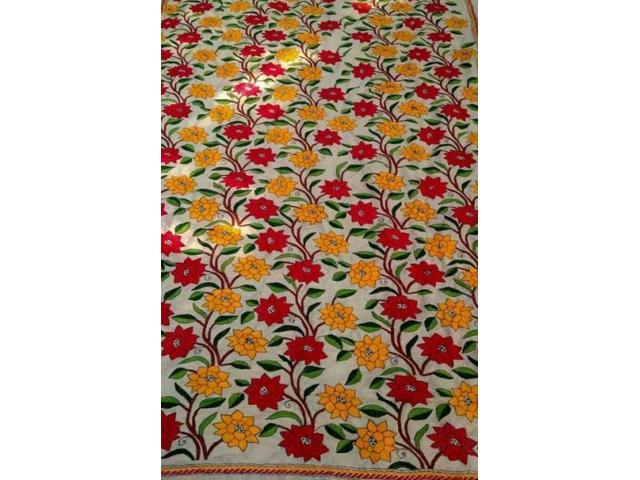 100+ designs and prints in pure tussar silk dupatta online.