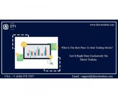 What is stock market trading   Direct Tradein