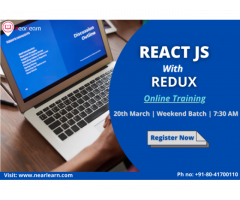 ReactJS with Redux Online Training course in Bangalore