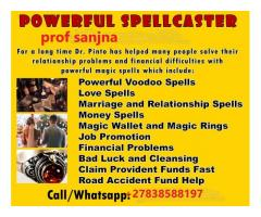 Powerful Traditional Spiritual Healer Call +27838588197 Prof Sanjna Works Faster on Any Problem.