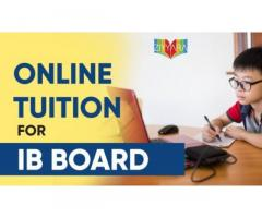 online home tuition For Ib  Board