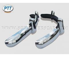 Volkswagen Beetle EU Bumper 1955-1966 in stainless steel