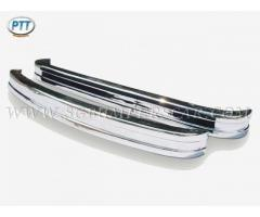 Volkswagen Bus Type 2 Late  Bumper 1973-1979 in stainless steel