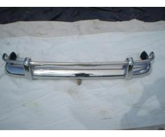 Volvo Amazon 122 Bumper 1956-1970 in stainless steel