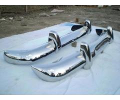 Volvo Amazon 122 EU Bumper 1956-1970 in stainless steel
