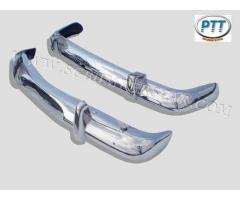 Volvo Amazon 122 Kombi Bumper 62-69 in stainless steel
