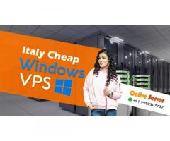 Buy Fully Protected cheap Italy Window VPS Server with Onlive Server