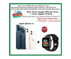 Sealed Brand new  iPhone 12 pro max + Extra Apple Watch Series 5 40mm