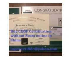 Buy CISSP, CIRCA, CISA, CISM, ITIL Certifications Online in Japan, China, USA