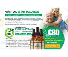 LeafMax CBD Oil @>>> https://americansupplements.org/leafmax-cbd-oil/