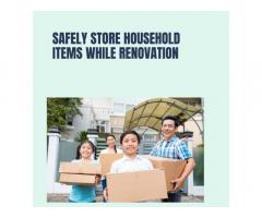 Safety store household items while renovation